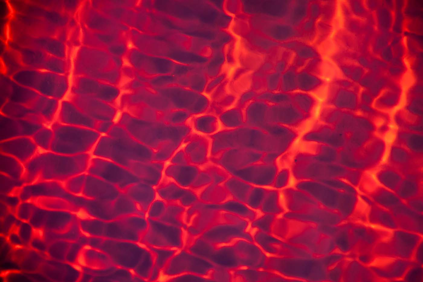 abstract water and light refraction red 2